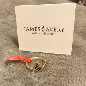 James Avery K Ring